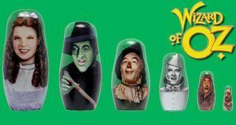Bonecas Russas Matryoshkas: O Mágico de Oz