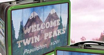 Seja Bem-Vindo a Twin Peaks Lancheira de Lata