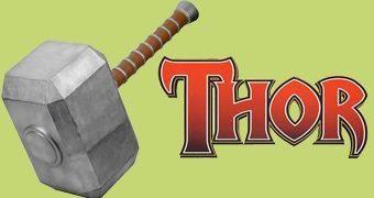 Martelo do Thor em Tamanho Gigante com 1,2 Metro!