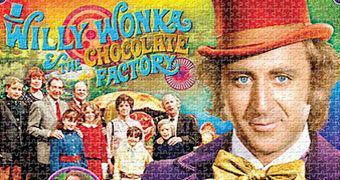 Quebra-Cabeça A Fantástica Fábrica de Chocolate com Gene Wilder