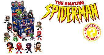 Spider-Man Classic Mystery Minis – Mini-Figuras Funko Blind-Box
