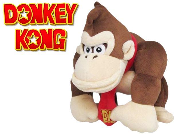 Boneco-Pelucia-Donkey-Kong-10-Inch-Plush-Sanei-01