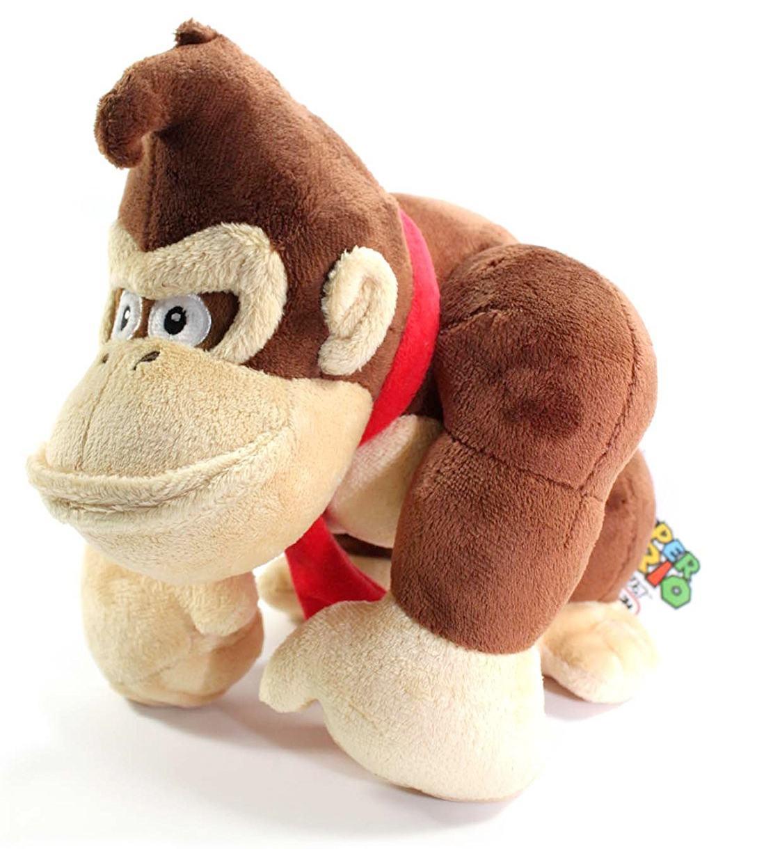 Boneco-Pelucia-Donkey-Kong-10-Inch-Plush-Sanei-02