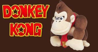 Donkey Kong, o Gorila de Pelúcia!