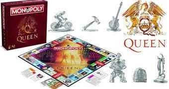 Queen Monopoly – Jogo de Tabuleiro da Banda de Freddie Mercury e Brian May