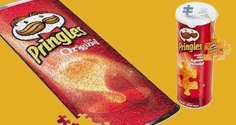 Quebra-Cabeça Batata Chips Original Pringles