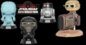 Bonecos Pop! Exclusivos Star Wars Celebration 2017 (Série 1)