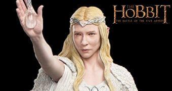 Lady Galadriel (Cate Blanchett ) em Dol Guldor – Estátua Perfeita 1:6  Weta Workshop O Hobbit