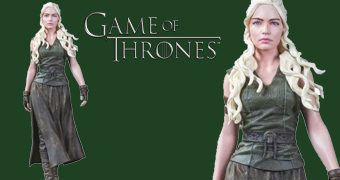 Figura Dark Horse Game of Thrones: Daenerys Targaryen, Mãe de Dragões