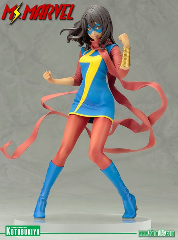 Estatua-Ms-Marvel-Kamala-Khan-Marvel-Bishoujo-Statue-01