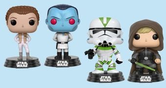 Bonecos Pop! Exclusivos Star Wars Celebration 2017 (Série 2)