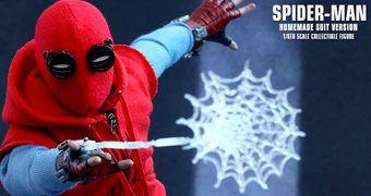 Spider-Man (Tom Holland) em O Homem-Aranha Está De Volta – Action Figure Perfeita 1:6 Hot Toys