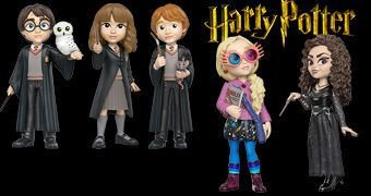 Harry Potter Rock Candy – Bonecas de Vinil Funko