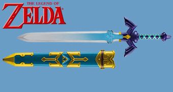 Espada Master Sword do Link em Legend of Zelda