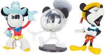 Mini-Figuras Mickey Mouse Vinylmation Curtas-Metragens (Blind-Box)