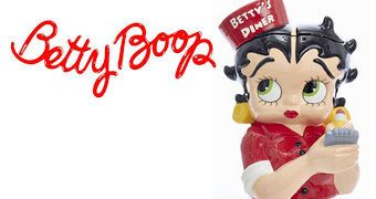 Pote de Cookies Betty Boop Diner Cookie Jar