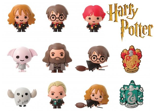 Chaveiros-Harry-Potter-Series-2-3-D-Figural-Foam-Keychains-01