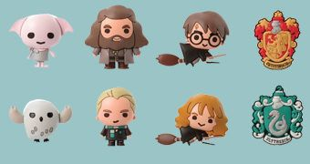 Chaveiros Harry Potter 3D Monogram Figural Keyrings