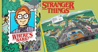 Livro Onde Está Barb? da Série Stranger Things!