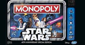 40 Anos de Star Wars Jogo Monopoly da Hasbro