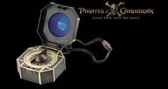 Réplica da Bússola de Jack Sparrow em Piratas do Caribe: A Vingança de Salazar