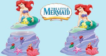 Pote de Cookies A Pequena Sereia – The Little Mermaid Cookie Jar