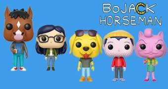 Bonecos Pop! BoJack Horseman (Série do Netflix)