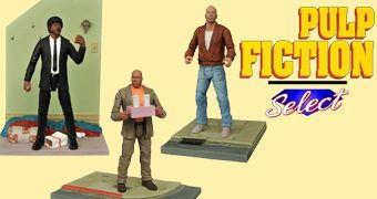 "Pulp Fiction Select 7"" Action Figures Série 1"