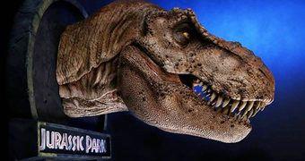 Troféu Cabeça de Tiranossauro Rex Fêmea!