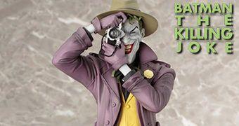 Joker: The Killing Joke ArtFX (2º Edição) – Estátua da Graphic Novel A Piada Mortal