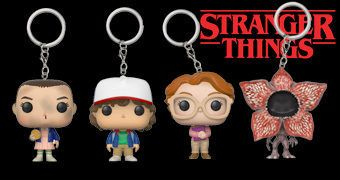 Chaveiros Stranger Things Funko Pocket Pop!