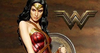 Wonder Woman Movie ArtFX (Gal Gadot) – Estátua Kotobukiya 1:6 Mulher Maravilha