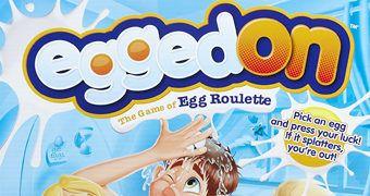 Jogo Roleta Russa de Ovo Egged On Game (Páscoa 2017)