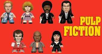 "Mini-Figuras Quentin Tarantino ""Pulp Fiction"" TITANS Mini (Blind-Box)"