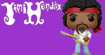 Boneco Pop! Jimi Hendrix Woodstock