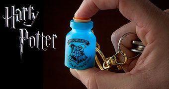 Chaveiro Mágico Harry Potter com Feitiço Lumus!