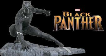 Estátua Pantera Negra (Black Panther) Marvel Gallery da Diamond Select