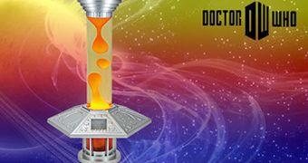 Lâmpada de Lava Doctor Who: Tardis Console Lava Lamp