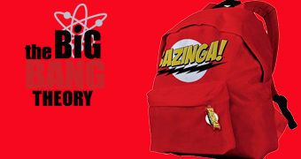 Mochila The Big Bang Theory Bazinga!