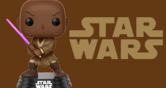 Boneco Pop! Star Wars Mace Windu