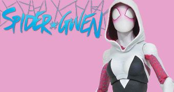 Spider-Gwen Marvel Select Action Figure em Escala 7""