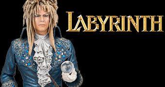 """David Bowie como Jareth, o Rei dos Duendes – Action Figure McFarlane 7"""" do Filme Labirinto"""