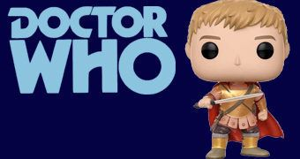 Boneco Pop! Doctor Who: Rory, O Último Centurião