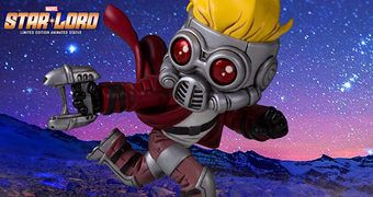Star-Lord Animated Statue – Estátua Gentle Giant Estilo Bebê
