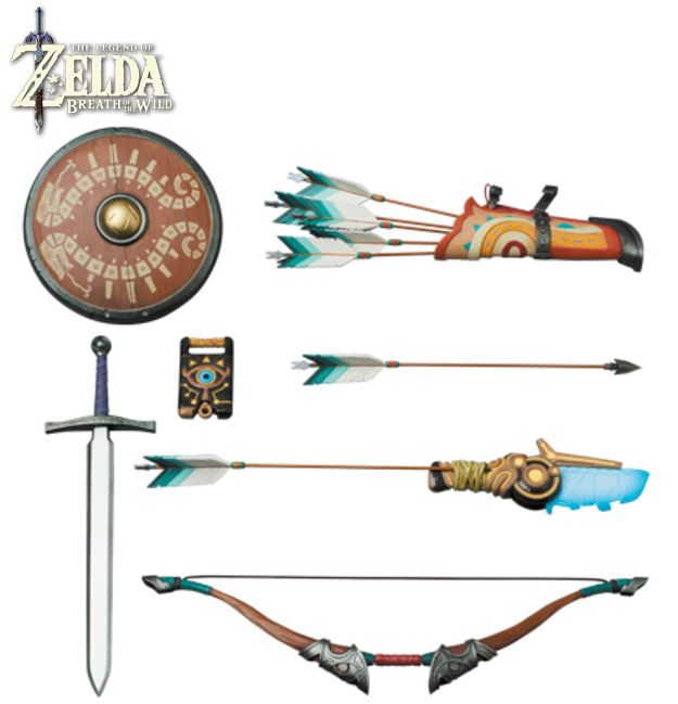 Legend-of-Zelda-Breath-of-the-Wild-Real-Action-Heroes-Link-Action-Figure-09