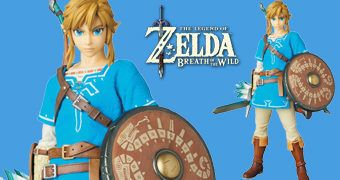 Link (Breath of the Wild) RAH – Action Figure Medicom 1:6 do Game The Legend of Zelda: Breath of the Wild