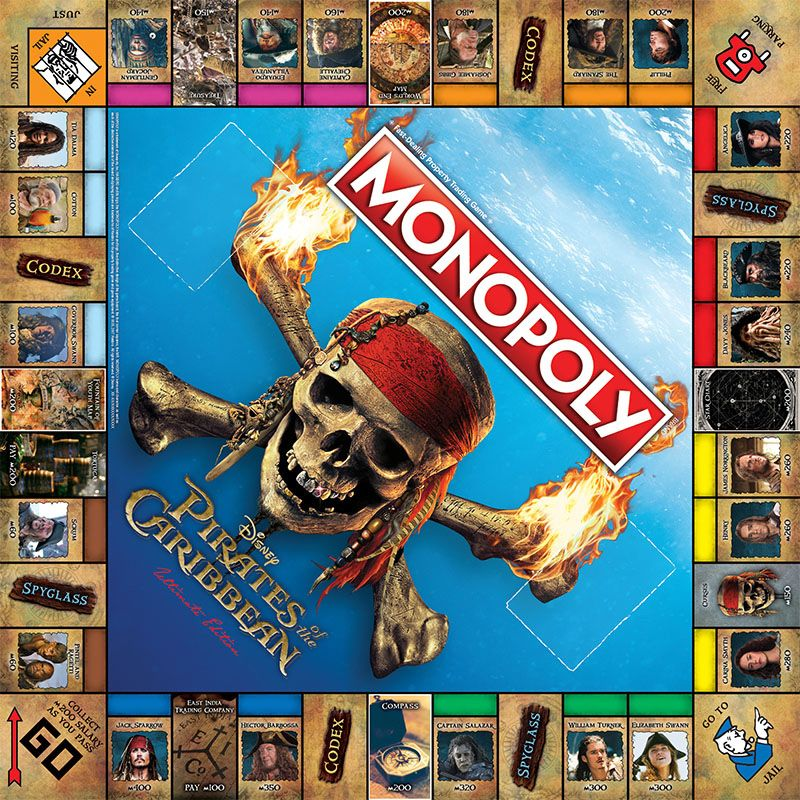 Piratas-do-Caribe-Pirates-of-the-Caribbean-Ultimate-Edition-Monopoly-Game-02