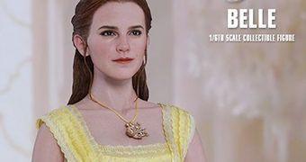 Belle (Emma Watson) em A Bela e a Fera – Action Figure Perfeita 1:6 Hot Toys