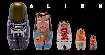 Bonecas Russas Matryoshkas: Alien, o Oitavo Passageiro