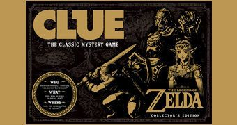 Jogo Detetive The Legend of Zelda Clue
